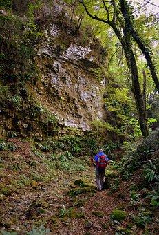 The European Path, E5, Val Borago, Avesa, Verona, Italy