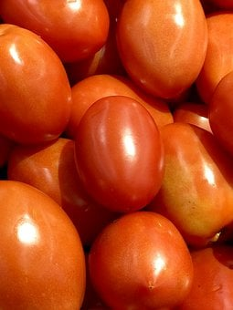 Tomato, Red, Ripe, Organic, Food, Vegetable
