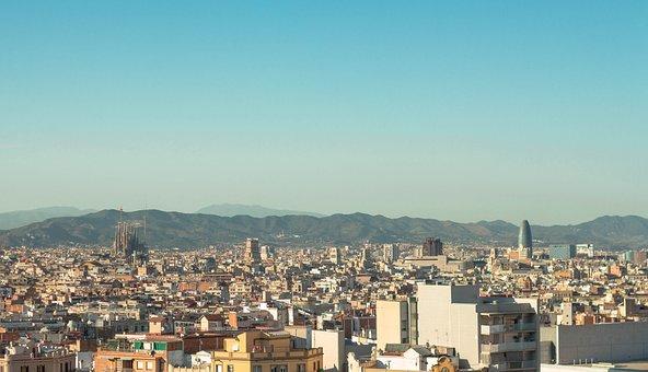 Barcelona, Landscape, City, Catalonia, Cities, Views