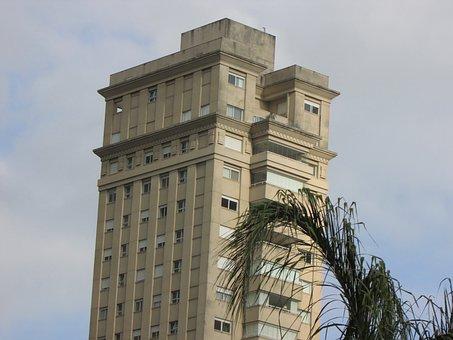 Building, Condomio, Cloudy