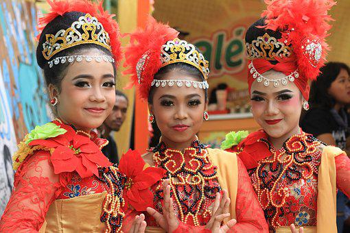 Dancer, Girls, Indonesian, Woman, Young, Female, People