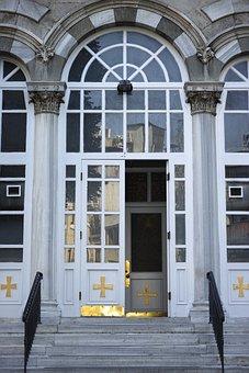 Church, Door, Home, Old Building, Decoration