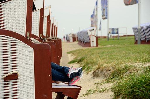 Beach Chair, Autumn, Winter, Impressions, Feet, Foot