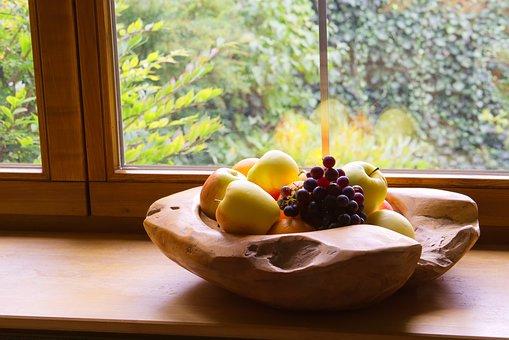 Fruit Basket, Fruits, Food, Apple, Delicious, Eat