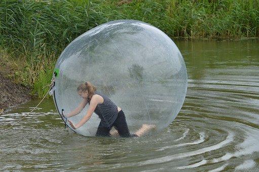 Ball, Water, Fun, Sport, Game, Water Ball