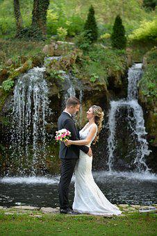 Bride, Groom, Wedding, Couple