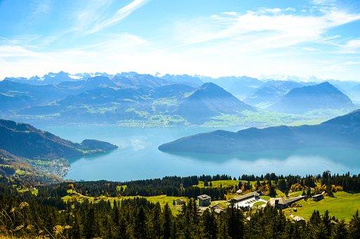 Alpine, Rigi, Rigi First, Lake Lucerne Region