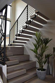 Stairs, Architecture, Building, Modern, Staircase