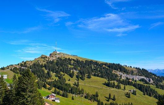 Alpine, Mountains, Rigi, Autumn, Nature, Switzerland