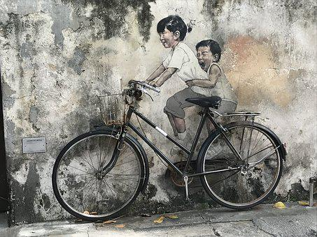 Penang, Street Art, Malaysia, Holiday, Vacation, Asia
