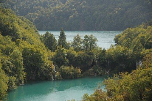 Plitvice Lakes, Waterfalls, Croatia, National Park