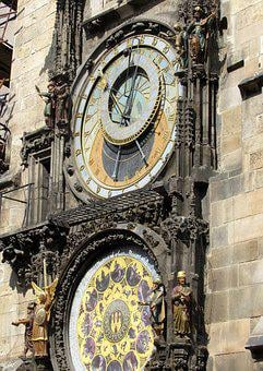 Prague, Astronomical Clock, Hour S, Tower