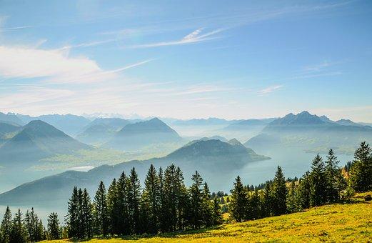 Alpine, Rigi, Pilatus, Lake Lucerne Region