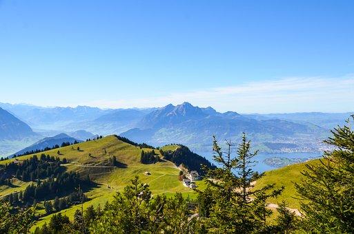 Alpine, Foresight, Mountains, Nature, Rigi, Pilatus