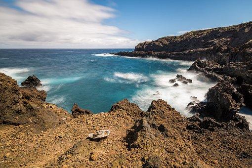 Atlantic, Surf, Sea, Ocean Surf, Spray, Wave, Rock