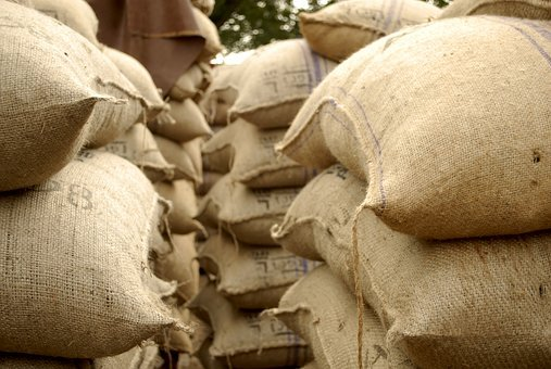 Cocoa, Sacks, Jute, Ghana, Jabon, Qa, Chocolate