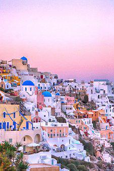 Travel, Greece, Santorini, Wallpapers