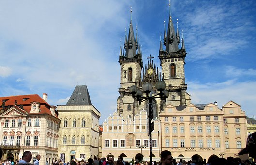 Prague, Old Town, Towers, Buildings