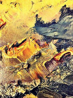 Sea, Waves, Oil Paint