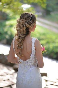 Bride, Wedding, Hair, Bridal