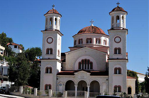Albania, Berat, Cathedral