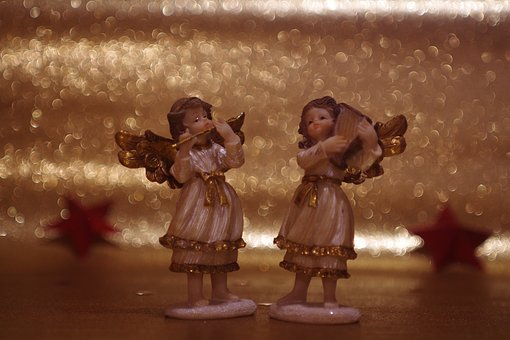 Angel, Two Angels, Christmas Time