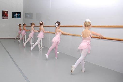 Ballet, Class, Choreography, Ballerina, Machine, Lesson