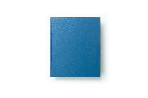 Book, Cover, Blue, Book Cover, Paper, Blank, Design