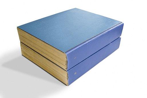 Book, Books, Pile, Cover, Blue, Book Cover, Paper