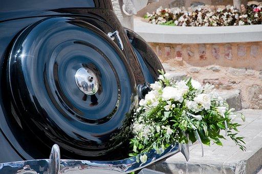 Marriage, Bouquet, Spouses, Wedding, Romance, Rose