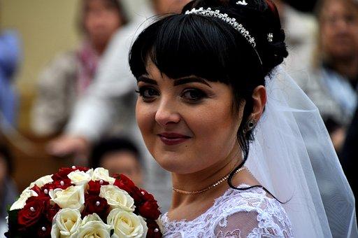Woman, Bride, Wedding