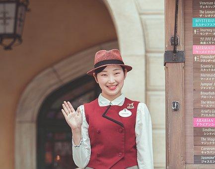 Japanese, Cute, Girl, Portrait, Smile