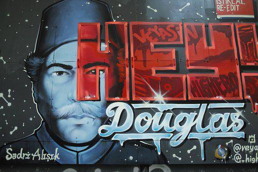 Graffiti, Paint, Nobody, Background, Backgrounds