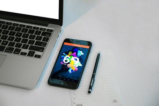 Desk, Apple, Apple Device, Apple Devices, Iphone