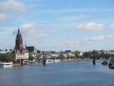 Kaiserdom St Bartholomäus, Frankfurt Am Main Germany