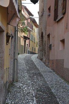 Lane, Alley, Malcesine, Houses, Garda, Italy