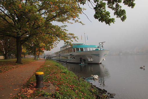 Mosel, Ship, River, Sachsen, Water, Germany, Tourism