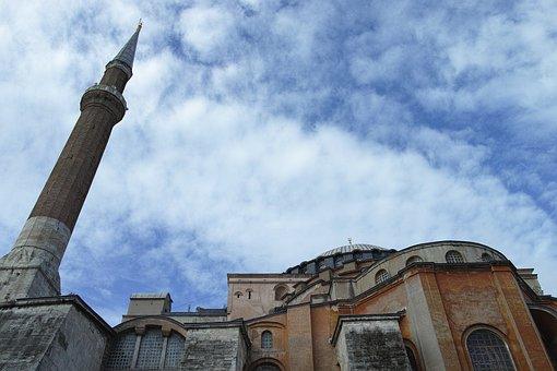 Hagia Sophia, Church, Museum, Cami, Minaret, Istanbul