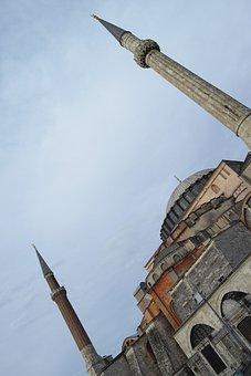 Hagia Sophia, Church, Museum, Jesus, Cami, Minaret