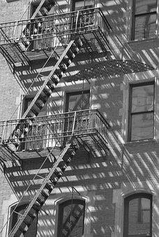 New York, New York City, Stair