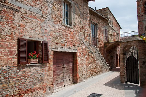Alley, Country, Old Town, Borgo, Village, Old Walls