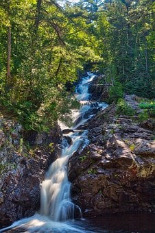 Crystal Falls, Sault St Marie, Waterfalls