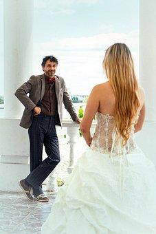 Wedding, Bride, The Groom, The Bride And Groom