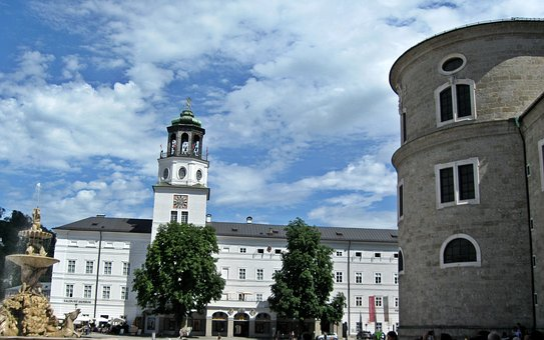 Salzburg, Square, Tower
