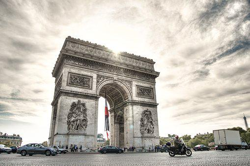 Arc, Triomph, Paris, France, Europe, Travel, Tourism