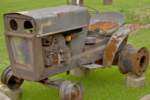 Old, Artifact, Antiques, Truck, Rusty