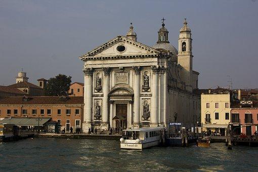 Italy, Venice, Water, Building, Venezia, Architecture