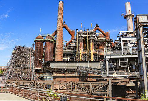 Industry, Blast Furnaces, Steel Production