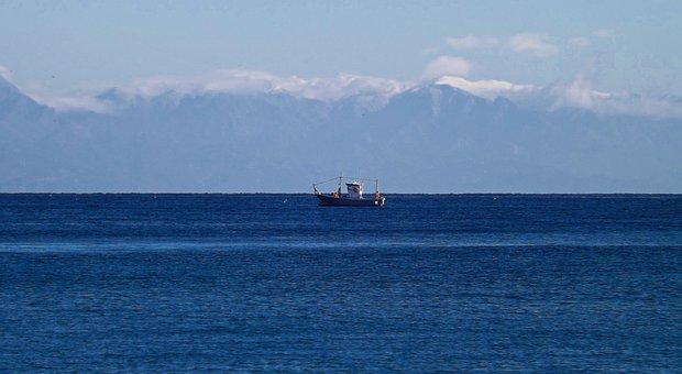 Boat, Sea, Ocean, Ship, Water, Marine, Nautical