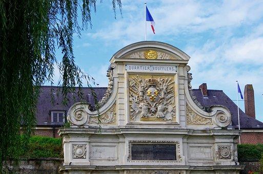 Lille, Citadel, Pediment, Drawbridge Blazon, Military